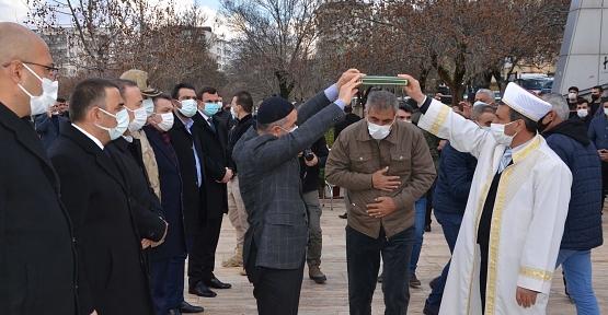 Kurtalan'da Husumetli Aileler Barıştırıldı