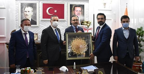 Bakan Kasapoğlu, AK Parti İl Başkanlığını Ziyaret Etti