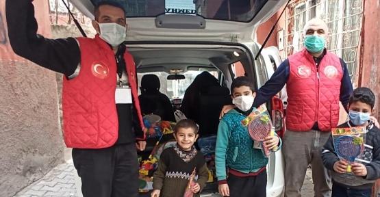 Siirt Vefa Sosyal Destek Grubu, Çocukları Unutmadı