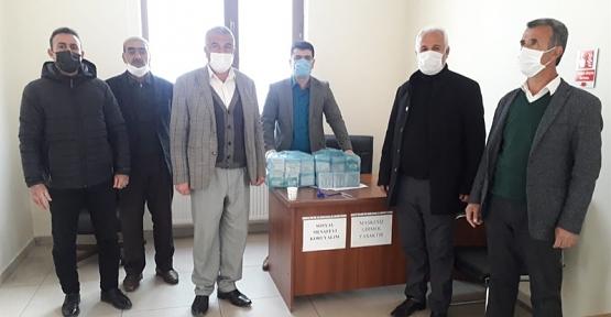 Baykan Kaymakamlığı, 30 Köy ve 9 Mahalle Muhtarlığına Ücretsiz Maske Dağıttı