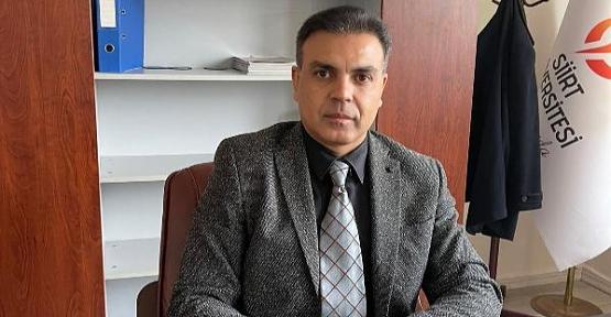 Kurtalan Meslek Yüksekokulu Müdürü Doç. Dr Fatih Çığ, Meslek Yüksekokulu Hakkında Bilgi Verdi