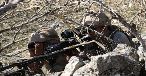 """Siirt- Şırnak Bölgesinde """"Eren-10 Gabar Operasyonu"""" Başlatıldı"""