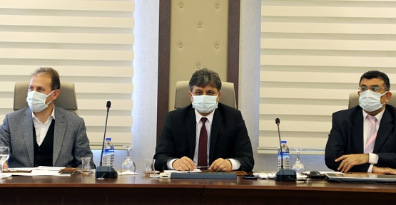 Siirt TSO ile Siirt Üniversitesi Arasında İşbirliğini Geliştirmeye Yönelik Toplantı Yapıldı