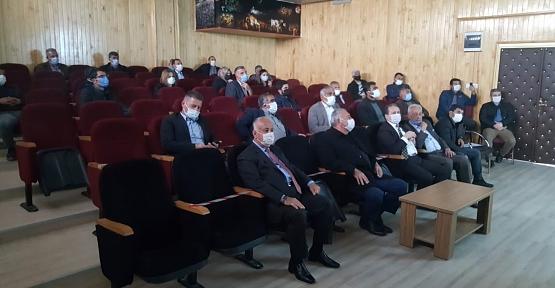 Kurtalan'da Kırsal Kalkınma Destekleri Bilgilendirme Toplantısı Yapıldı