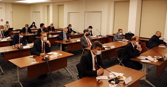 Rektör Şındak, YÖK Anadolu Projesi Değerlendirme Toplantısına Katıldı