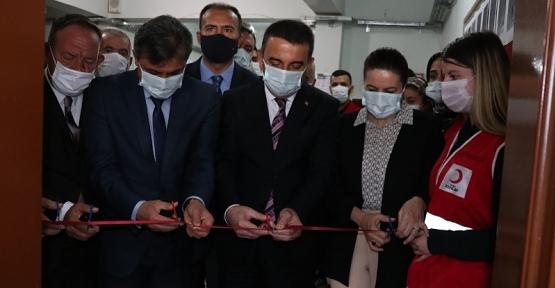 Vali Hacıbektaşoğlu, Türk Kızılay'ı Tarafından Yapılan Özel Eğitim Sınıfının Açılışını Yaptı