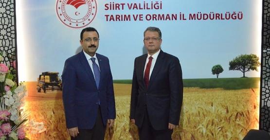 Vali Yardımcısı Abdulhamit Karaca, Tarım ve Orman İl Müdürlüğünü Ziyaret Etti