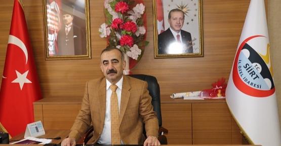 Siirt İl Genel Meclis Başkanlığına Cangir Bayram Yeniden Seçildi