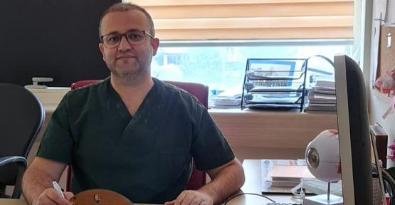 Dr. Öğretim Görevlisi Şaban Kılıç, Gözü Kaşımak ve Ovuşturmak Korneada Kalıcı Hasar Bırakabilir