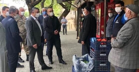 Kaymakam Hasar ve Başkan Cellek'ten Esnaf Ziyareti