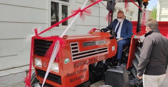 Kurtalan Belediyesi Araç Filosunu Güçlendirmeye Devam Ediyor