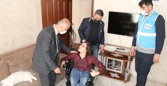 Siirt Belediyesi Engelli Genci Sevindirdi