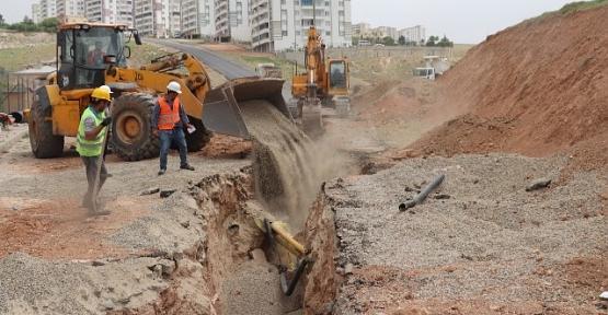 Siirt Belediyesinin Altyapı Çalışmaları Devam Ediyor