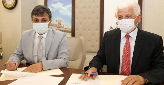 Siirt Üniversitesi İle GAP Tarımsal Araştırma ve Eğitim Merkezi Müdürlüğü Arasında İşbirliği Protokolü İmzalandı
