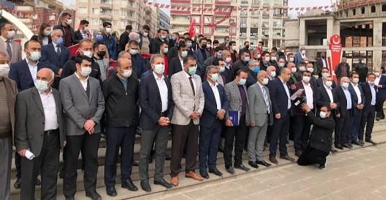 Siirt'te STK'lardan 104 Emekli Amiralin Darbe İmalı Bildirisine Tepki