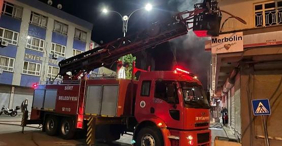 4 Katlı Evde Çıkan Yangın Korkuttu