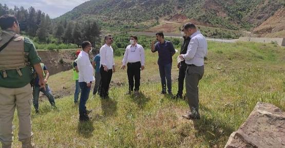Baykan'a Yeni Bir Rekreasyon Park Alanı Yapım  Çalışmaları Başlatıldı