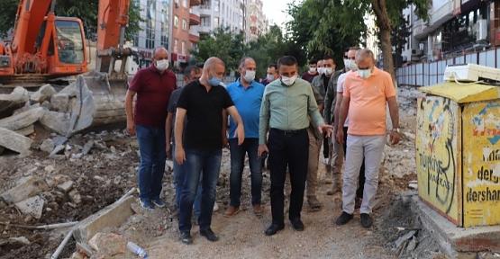 """Başkan Vekili Hacıbektaşoğlu, Güres Caddesi """"Siirt'in Sosyal, Kültür ve Sosyal Yaşamına Renk Katacaktır"""""""