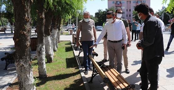 Başkan Vekili Hacıbektaşoğlu, Kentte Yapımı Süren Proje ve Yatırımları İnceledi