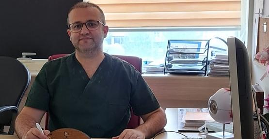 Dr. Öğretim Üyesi Şaban Kılıç, Pandemide Göz Alerjisine Dikkat Çekti