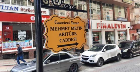 Gazeteci Yazar Metin Arıtürk'ün Adı Memleketi Siirt'te Yaşatılacak
