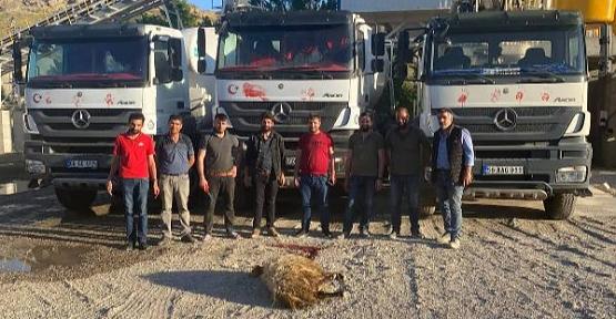Siirt'te Ensar Hazır Beton Santrali Açıldı