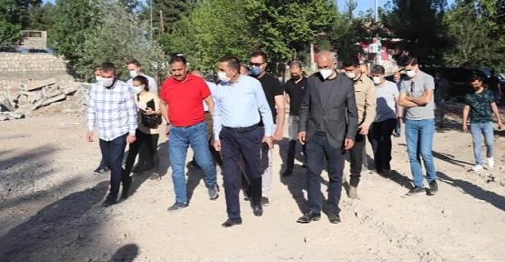 """Vali/Belediye Başkan V. Hacıbektaşoğlu, """"2021 Yılı Atılım ve Yatırım Yılı Olacak"""""""