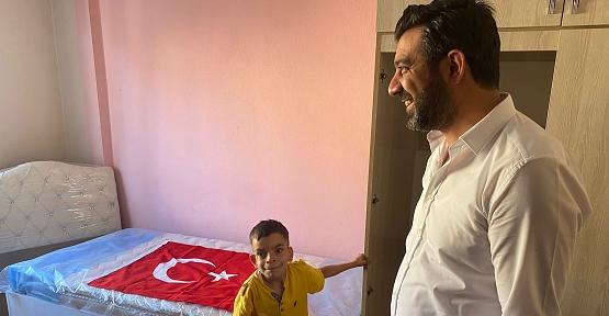 AK Parti Siirt İl Başkanı Av. Ekrem Olgaç , 12 Yaşındaki Çocuğun Hayalini Gerçekleştirdi