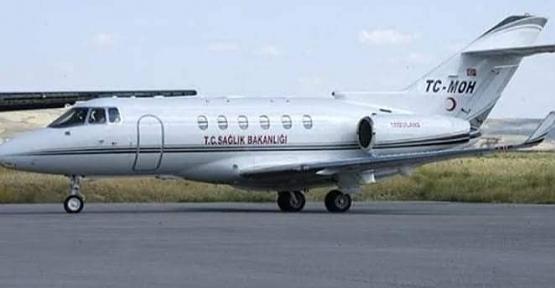 Ambulans Uçak Kartal Bebek İçin Havalandı