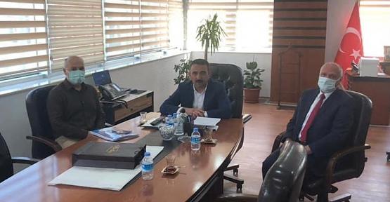 Belediye İş Sendikası Başkanı Akınay'dan Vali  Hacıbektaşoğlu'na Ziyaret