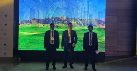 """Rektör Şındak, Gap Bölgesi Turizm Tanıtım ve Markalaşma Projesi """"Mezopotamya"""" Tanıtım Toplantısına Katıldı"""