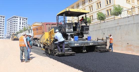 Siirt Belediyesi Asfalt Çalışmalarına Başladı
