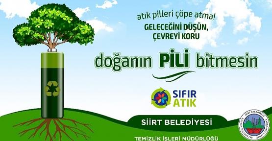Siirt Belediyesi, Sıfır Atık Projesi Kapsamında 'Bez Torba Taşı Doğayı Koru' Kampanyası Başlattı