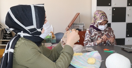 Siirt Belediyesinin Kurslarına Bayanlar Yoğun İlgi Gösteriyor