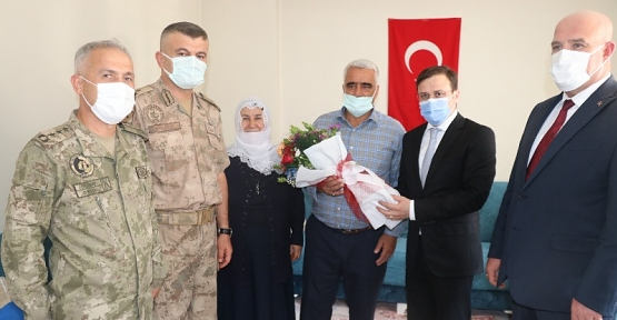15 Temmuz Demokrasi ve Milli Birlik Günü Dolayısıyla, Şehit Aileleri ve Gaziler Ziyaret Edildi