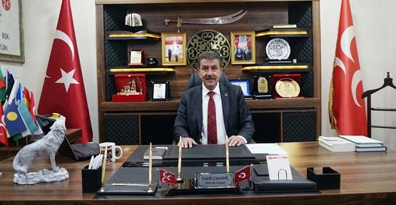 MHP İl Başkanı Fatih Cantürk'ten Kurban Bayramı Mesajı