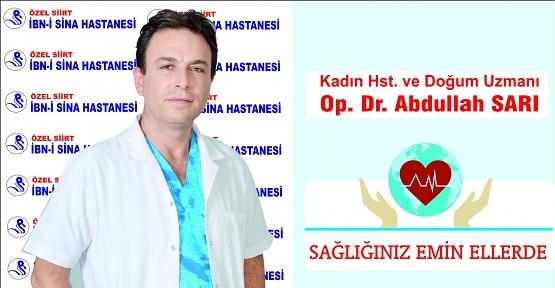Dr. Abdullah Sarı, Gebelik Tansiyonu ve Preeklampsi Hakkında Bilgi Verdi