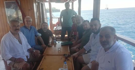 Antalya Sümer Spor Başkanlığına Yeniden Mert Hasan Göncü Seçildi