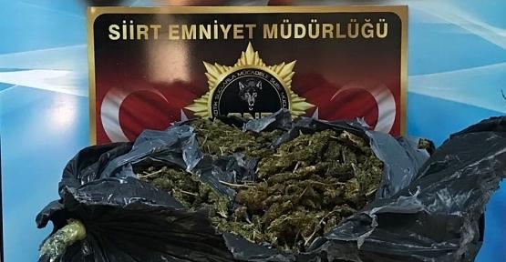 Emniyet Müdürlüğü Çok Sayıda Uyuşturucu Ele Geçirdi