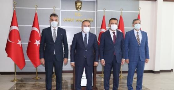 İçişleri Bakan Yardımcısı İsmail Çataklı Siirt'te