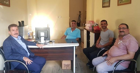 MHP İl Başkanı Fatih Cantürk Büromuzu Ziyaret Etti