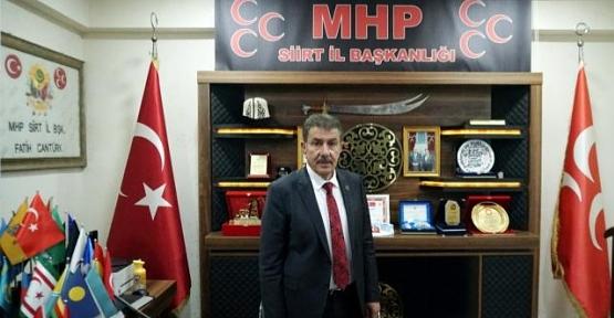 MHP İl Başkanı Fatih Cantürk Vatandaşlara Aşı Çağrısında Bulundu