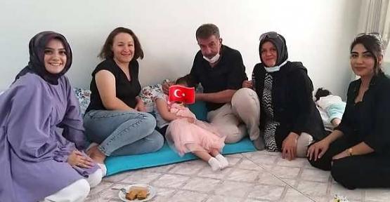 MHP Siirt İl Teşkilatı Minik Elif'in Ameliyat Masraflarını Karşıladı