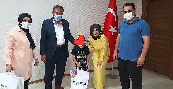 MHP Siirt İl Teşkilatı Sevgi Evlerinde Kalan Çocukları Bayram Öncesi Sevindirdi