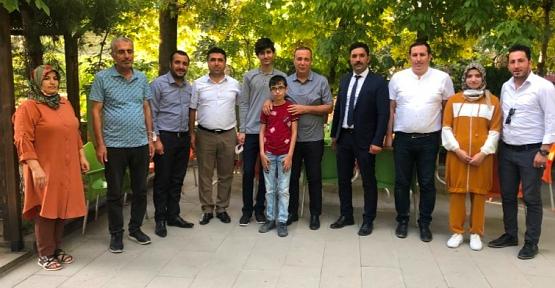Osman Ören, LGS Siirt Birincisini Ziyaret Ederek Ödüllendirdi