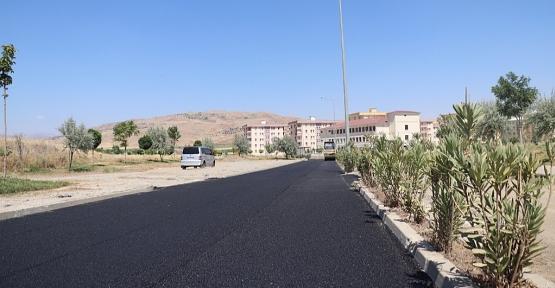 Siirt Belediyesi, Siirt Üniversitesi Kezer Yerleşkesinde Asfalt Çalışmalarına Başladı