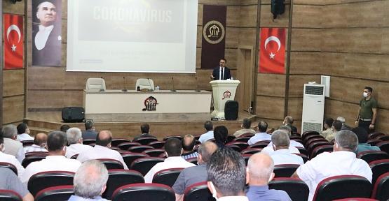 Vali Hacıbektaşoğlu, Muhtarlarla Pandemi Toplantısı Yaptı