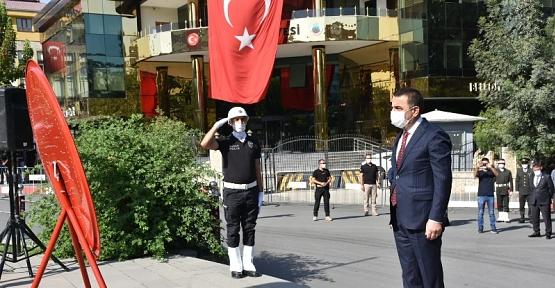 30 Ağustos Zafer Bayramı Siirt'te Törenlerle Kutlandı