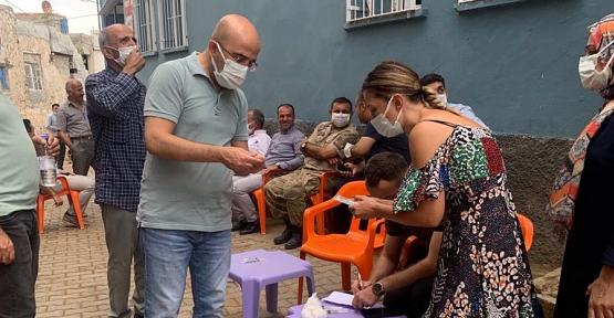 Siirt'te Evde Aşı Uygulaması Başladı