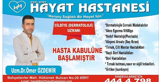 Dr. Ömer Özdemir, Cilt Kuruluğuna Karşı Almamız Gereken Önlemleri Anlattı